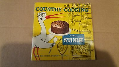Vintage Recipe / Cookery Book – Country Cooking with Stork Margarine