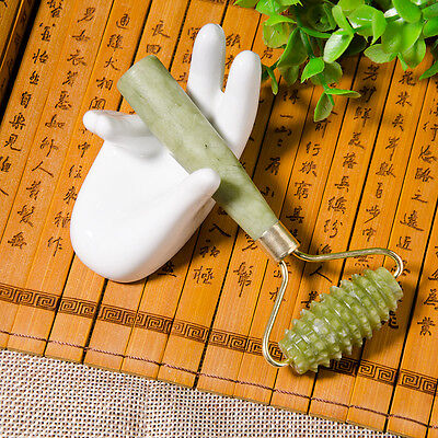 Nice Facial Massage Jade Roller Face Body Head Neck Nature Beauty Device