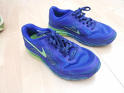 Womens Nike Air Max 2014 Running Trainers -- Uk  Sz 5 - Fault On Left Trainer