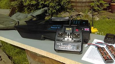 Angling Technics Procat MK3 Bait Boat with fish finder and lots of extras
