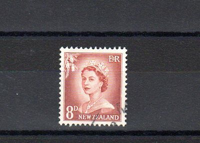 New Zealand SG 751 fine used, SG Cat Value (2007) £8