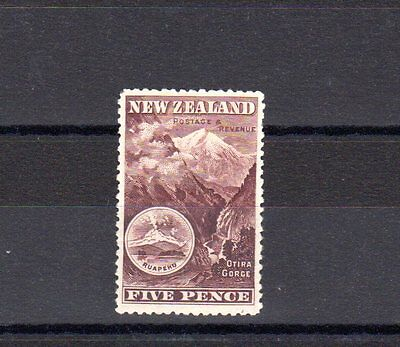 New Zealand SG 311a mounted mint, SG Cat Value (2007) £29