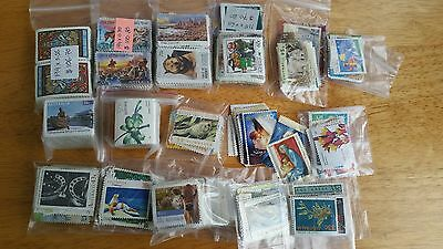 Collection of Australian Uncancelled Unfranked Postage Stamps OFF paper FV $800