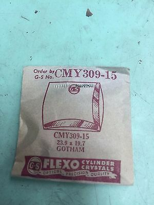 GS Germanow-Simon Gotham Replacement Watch Crystals - Assorted - See Pics!