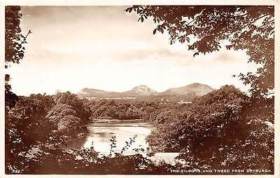 The Eildons and Tweed from Dryburgh