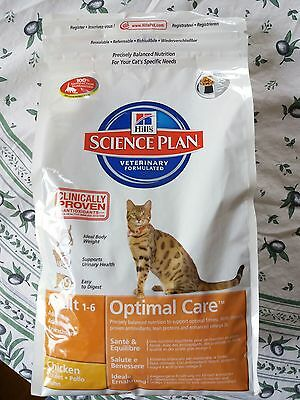 Croquettes Hills Science Plan Optimal Care Chat Adulte Poulet