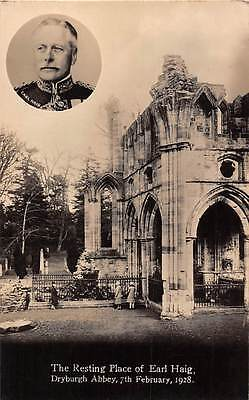 The Resting Place of Earl Haig, Dryburgh Abbey