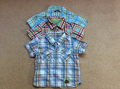Boys' Shirts X 3 Age 9-12 Months