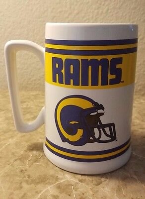 Vintage XL Los Angeles Rams Coffee Mug Official Licensed Product (16 oz)
