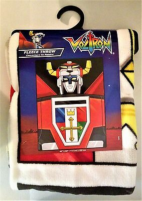 """Voltron 45"""" x 60"""" Fleece Throw Licensed by Just Funky"""