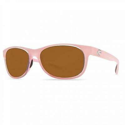 New Costa Del Mar Prop Polarized Sunglasses 580P Coral Pink/Amber Fishing 580 P