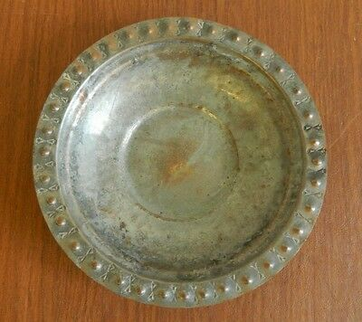 Antique islamic Persian middle east Copper Bowl.