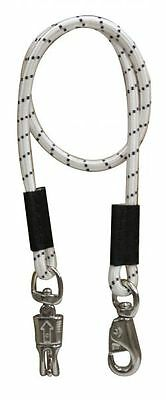 "Showman 49"" Bungee Cross Tie with Panic Release Snap"