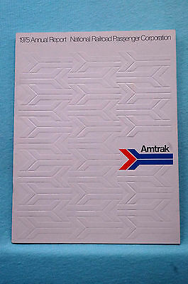 Amtrak Annual Report 1975