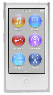 Apple iPod nano 7th Generation Silver (16GB) (Latest Model)