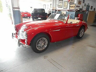 1962 Austin Healey 3000  Fully restored 3000 MK 11 BT 7 with OVERDRIVE