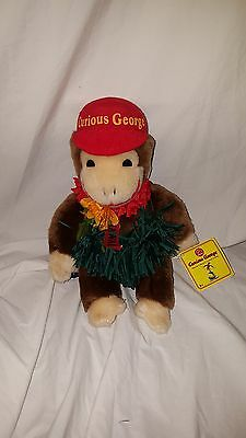 Curious George Rare Special Collector's Limited Edition Hawaiin Lei Plush