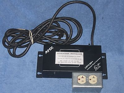 "AMX UPC20+ Universal Power Controller With 14ft 6"" Cord & Outlet Box"