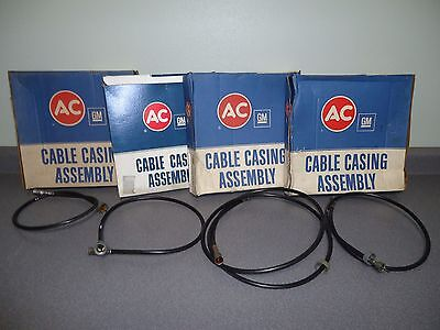"Wholesale Lot of (4) New NOS OEM GM AC Speedometer Cable 32"" 33"" 40"" 83"" Chevy"