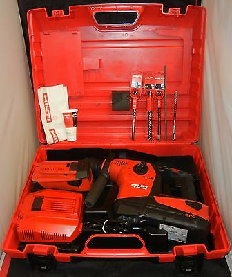 Hilti Te 30-A36 Cordless Combihammer 36V Rotary Demolition Tool+Bits