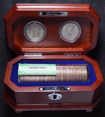 2014 Kennedy Half Dollars 50th Anniversary Collector's Roll