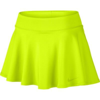 Nike Women's Baseline Skirt Skort Volt Ladies New 728775-702 M
