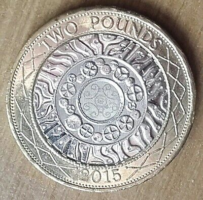 2015 Technology £2 Two Pound Coin - 4th Portrait