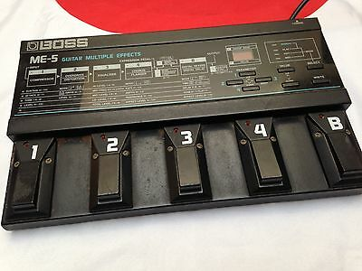 Boss ME-5 Guitar Multiple Effects Pedal Japan Made