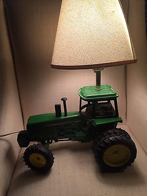 Preowned Used John Deere Tractor Lamp Farm Lamp Collectible For Adults And Kids