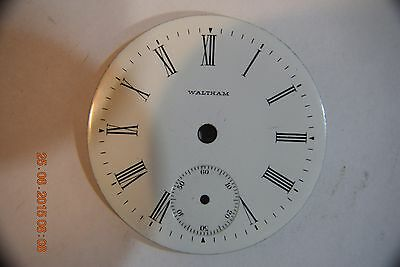 WALTHAM--18 S  DIAL--SINGLE SUNK-12 HOUR--Excellent Condition--GLEAMS