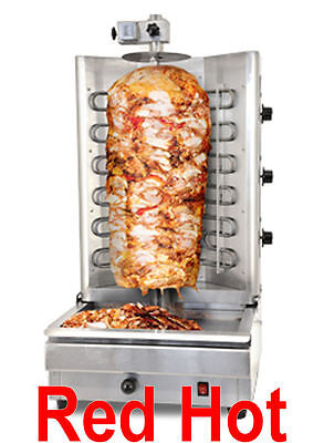 Omcan 19152 BR-CN-0394 Stainless Electric Gyro & Shawarma Vertical Broiler