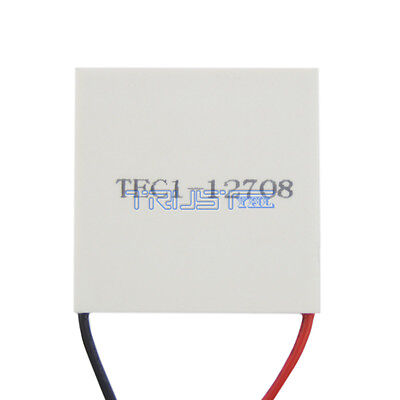 NEW TEC1-12708 Heatsink Thermoelectric Cooler Cooling Peltier Plate Module USA