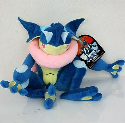 Pokemon Greninja/Gekoga Plush Doll Stuffed Animals Movie Character Toys 12 Inch