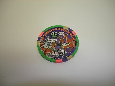 Mahoney's Silver Nugget Casino   Christmas 2001   $25 Casino Chip  OBS!!