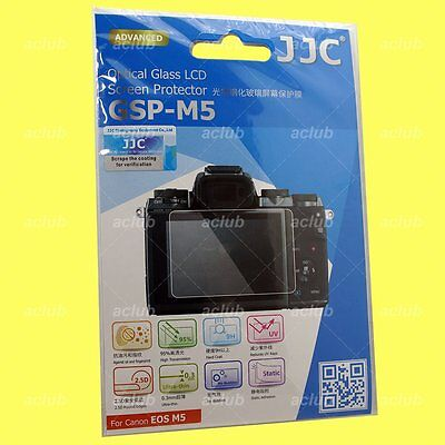 JJC GSP-M5 0.3mm Optical 9H Tempered Glass LCD Screen Protector For Canon EOS M5
