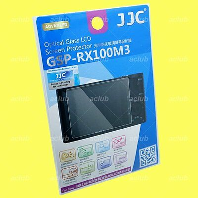 JJC 0.3mm Tempered Glass LCD Screen Protector For Sony RX100V RX100IV RX100III