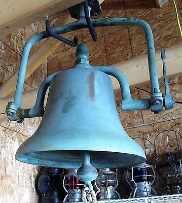Solid Brass RR or Marine Bell