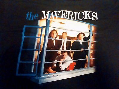 THE MAVERICKS Music For All Occasions XL vtg SHIRT outlaw country honky tonk 95