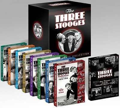 The Three Stooges . Ultimate Collection . Complete 1934 - 1959 . 20 DVD Box NEU