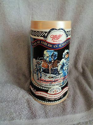 "Miller BEER STEIN- ""Great American Achievements""- Number #5"