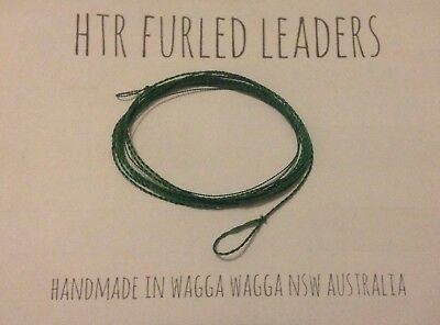 HTR Fishing Supplies 9 Foot Tapered Furled Leader 6x to 8x Tippet