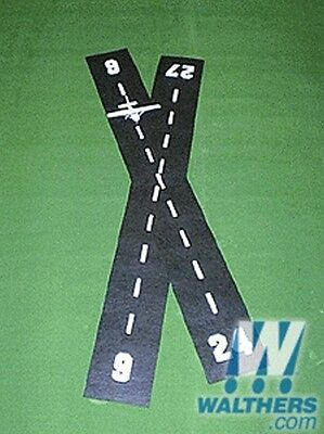 Airport Runway for HO 1:87 Models - Suit model railway Airport Construction