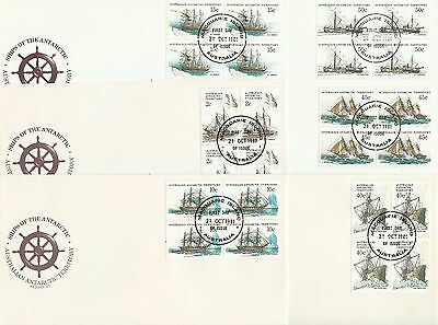 AAT - Ships of the Antarctic Series 3 - Exceptional - Complete Set of Four Bases