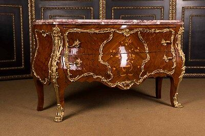 Significant French Dresser with Bronze in the Louis Quinze Style
