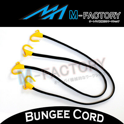 2x Flat Bungee Cord POM Hooks Best Reliable Heavy Duty Fit ATV/Touring 105YP