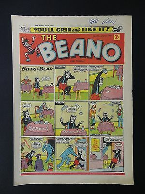The Beano Comic No. 776 - June 1st 1957, VG Copy