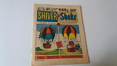shiver and shake comic issue 8 28th April 1973