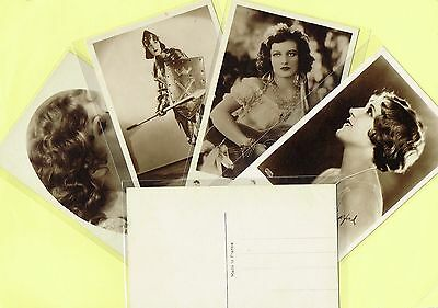 EUROPE - 1930s Film Star Postcards Produced in France #482 to #678