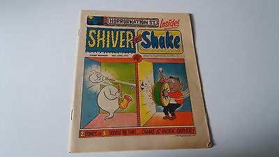 shiver and shake comic issue 15 16TH JUNE 1973