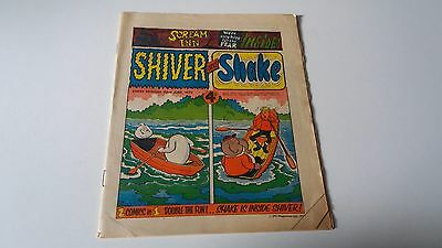 shiver and shake comic issue 16 23RD JUNE 1973